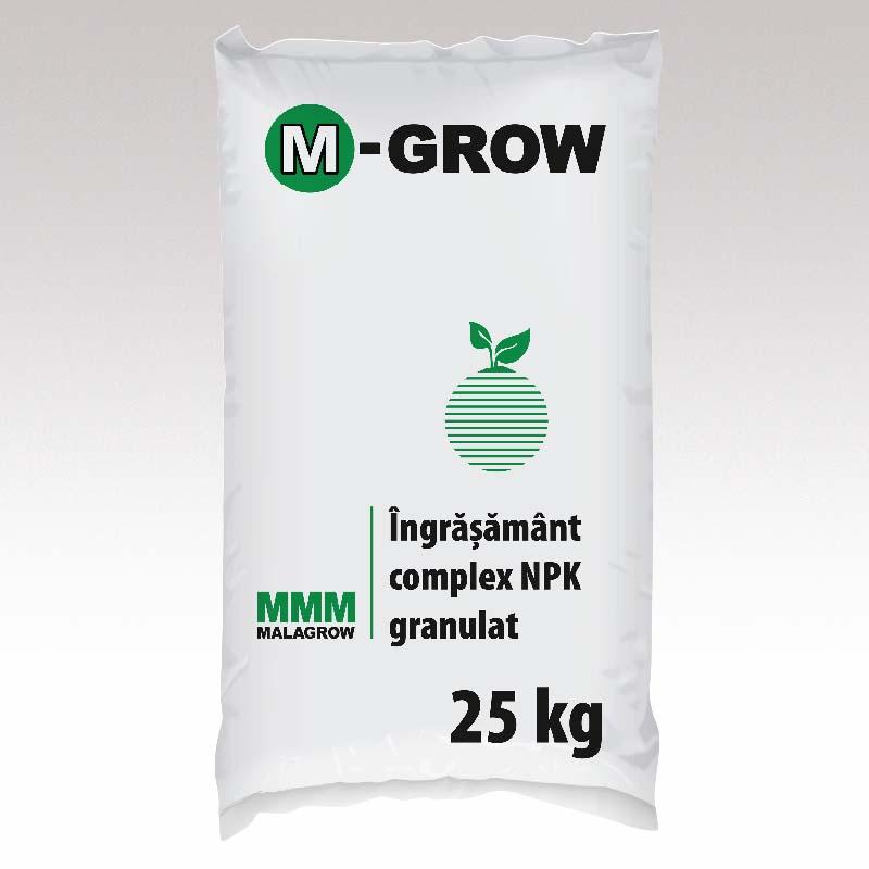 M-Grow îngrășământ complex 25 kg